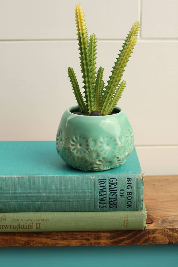 succulent planter // cactus plant pot // succulent pot // small ceramic pot // succulent gift // air plant container