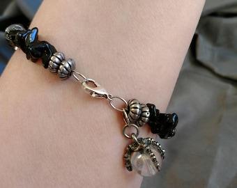 Obsidian Claw Bracelet