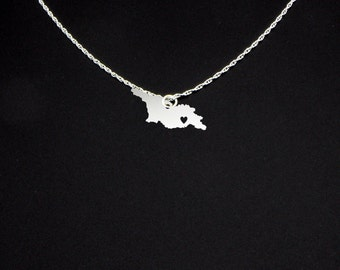 Georgia Necklace - Georgia Jewelry - Georgia Gift