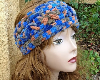 Woodacre Ear Wrap - a loom knit pattern
