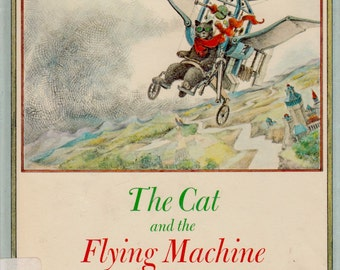 The Cat and the Flying Machine by Laszlo Kubinyi