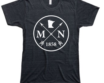 Homeland Tees Men's Minnesota Arrow T-shirt