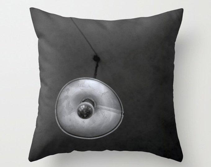 Prague Sofa Pillow, Black and White Accent Pillow, Detail Throw Pillow Cover, Detail 18x18 24x24 Decorative Pillow Cushion
