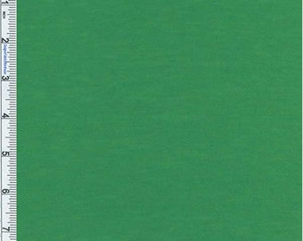 Green Poly Blend Jersey Knit, Fabric By The Yard
