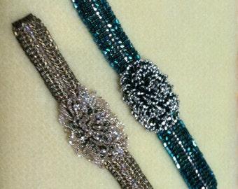 "Bracelet Beadweaving Tutorial ""Mermaid's Majesty"" Three Patterns in One Download!"