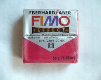 Fimo Effect, Eberhard Faber, Polymer Clay Block, 56 grams, 1.97 oz, Never Used, Original Packaging, Polymer Clay Supplies, Fimo, Sculpey