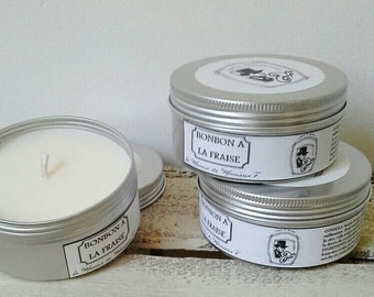 Sweet Strawberry preserved fragrance candle