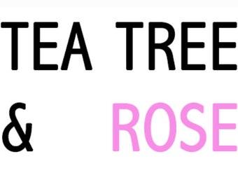 Tea Tree & Rose Essential Oil Bar