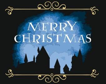 Merry Christmas/Hogwarts inspired gold tea with vanilla taste/70g