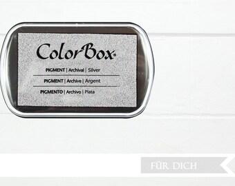Silver - Pigment XL Inkpad
