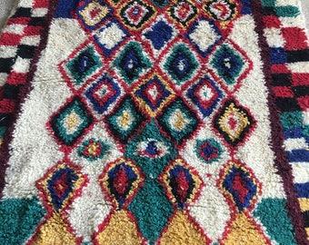 Beni Ouarain Moroccan Rug 100%Wool