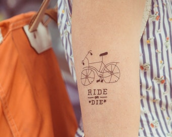 TEMPORARY TATTOO - ride or die
