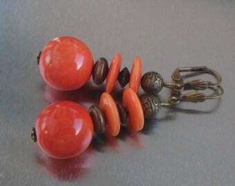 : Tagua orange Tan