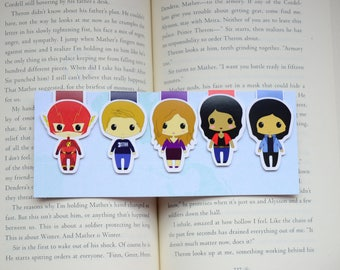 The flash magnetic bookmark