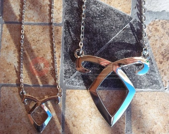 Angelic power necklaces, inspired by movie, two different sizes