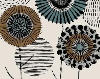 Graveur d'Art Floral, édition limitée giclée