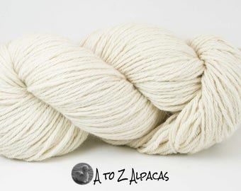 Royal Baby Alpaca Yarn Bulky Weight Natural White 200 grams