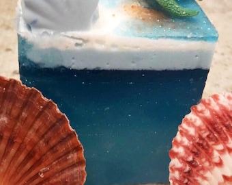 Beautiful Soap  Pretty Soap  Ocean Soap Pretty Fragrant Soap  Pretty Handmade Soap Metropolitan Soap Nut Free