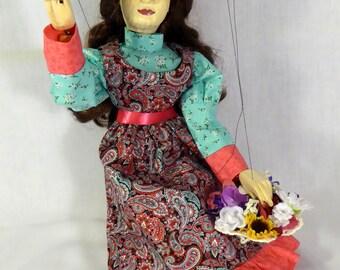 Flower girl marionette