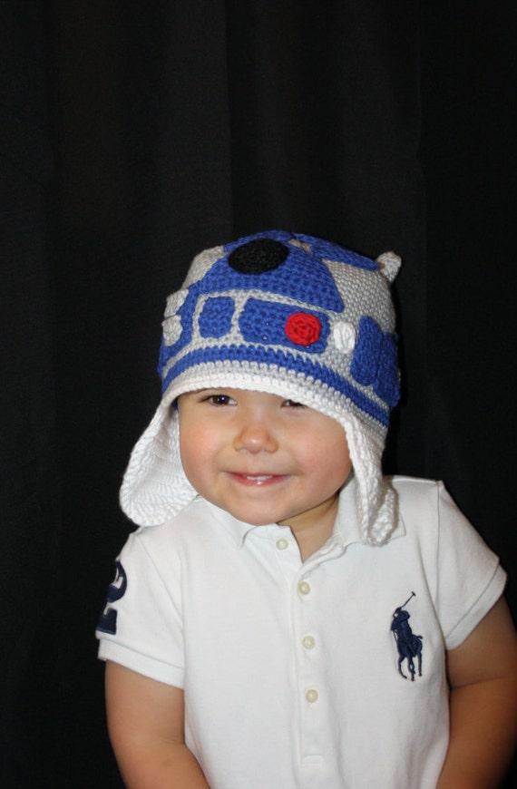 Star Wars R2D2 Hat EASY Crochet Pattern PDF - Infant, Toddler, Child ...