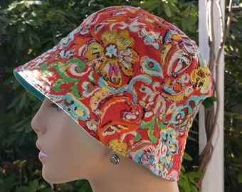 Womens Chemo Caps  Cancer Hats Sun Hats SMALL-MEDIUM