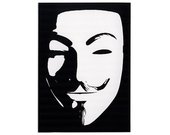 Anonymous Guy STICKER
