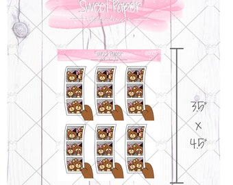 Photo Strip of Beary Couple B0005