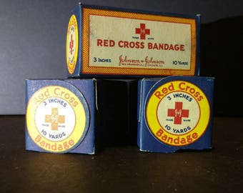 New Old Stock | Vintage Red Cross Bandages