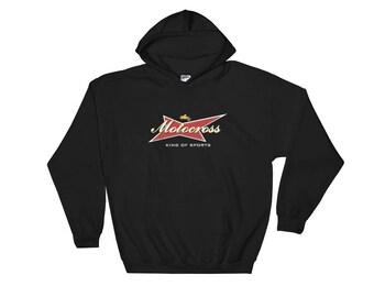 Motocross King of sports Hooded Sweatshirt