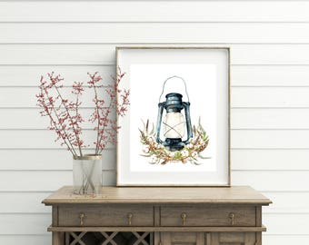 Lantern Centerpiece, printable, printables, wall art, wall decor, lantern, lantern wall decor, cotton decor, cotton print, cotton art, print