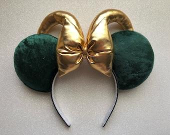 Marvel The Avengers Loki Mickey Ears