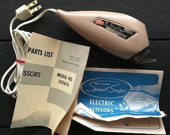 Thor Electric Scissors  Speed Snips Vintage