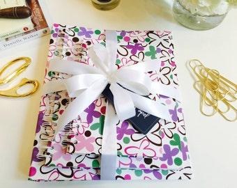 Social Butterfly Journal, Notebook, and Binder Bundle