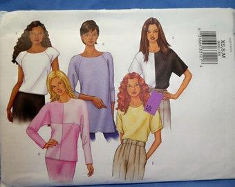 Buutterick 3030 Sewing Pattern, Woven Top, Size XS-S-M