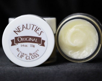 Natural Lip Gloss // Original (Flavorless) // The World's Most Loved Lip Gloss! // Neauties Premium Lip Products