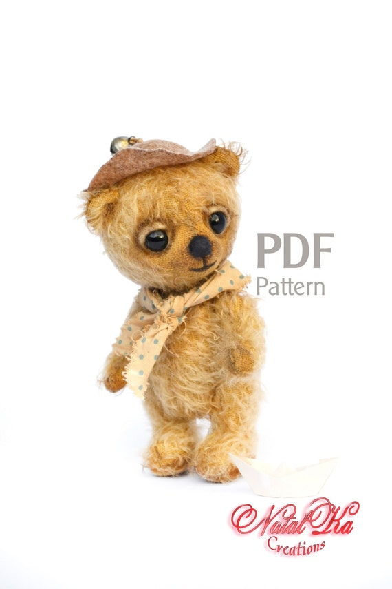 PDF Schnittmuster Teddy Felix 135 cm digitaler