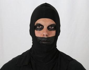 Horror Hood - Black - Wear it under your mask