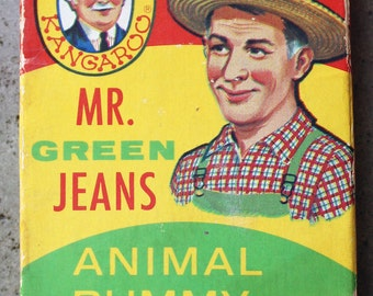 Mr. Green Jeans Animal Rummy Card Game