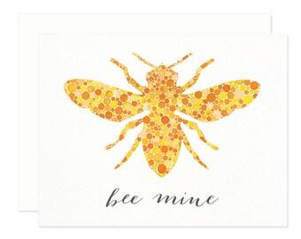 Bee Mine Love Greeting Card
