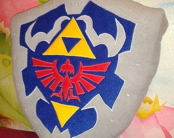 Zelda Hylian Shield pillow