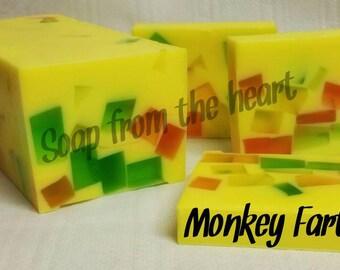 Monkey Farts Glycerine Soap