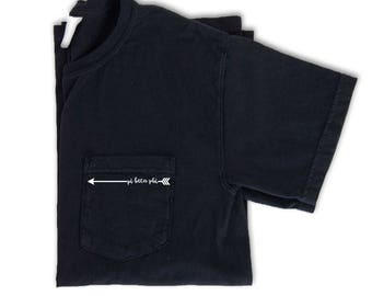 Pi Beta Phi Shirt, Pi Beta Phi Arrow Pocket Tee, Pi Beta Phi Sorority Shirt, Pi Beta Phi Letters, Comfort Colors Pocket Tee, Pi Phi Arrow