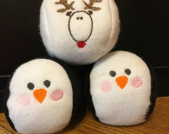 ITH ~ Snowball Embroidery Design Files