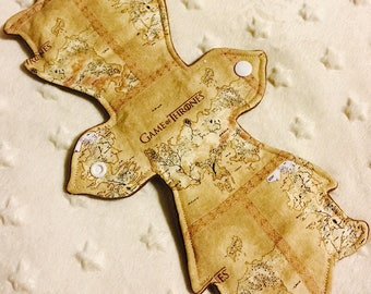 """12"""" Moderate Absorbency - game of thrones map"""