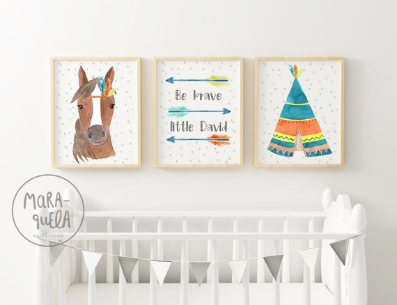 Set Caballo Colores / Colorful Horse Set