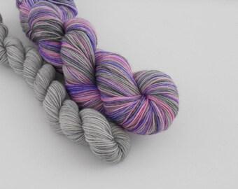 LOVE SOCK self-striping, 017, merino nylon sock yarn,100g