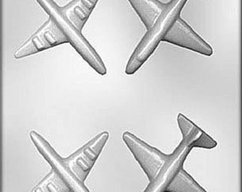 Airplane chocolate, mint. candy. or soap mold cake decorations