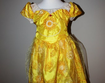 CLEARANCE SIZE 4 Ready to ship Disney's Beauty and the Beast Inspired Belle's Fancy Ball Gown