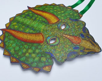 Adult Dinosaur Mask / Triceratops Mask
