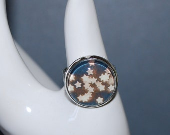 Adjustable ring - starry